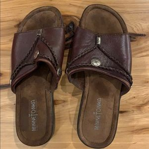 Sandals by Minnetonka genuine leather